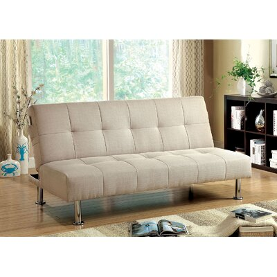 Mcneill Adjustable Sofa Color: Ivory