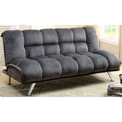 Lauren Convertible Sofa Upholstery: Gray