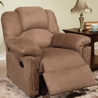Jori Recliner Upholstery: Brown