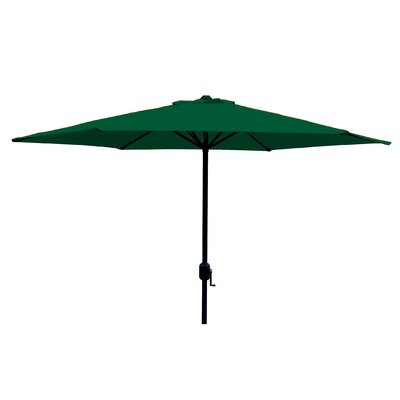 Faiths 9 Market Umbrella Color: Green