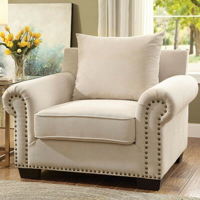 Fabric Accent Armchair
