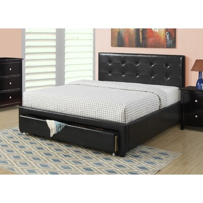Beverly Upholstered Platform Bed Size: Queen