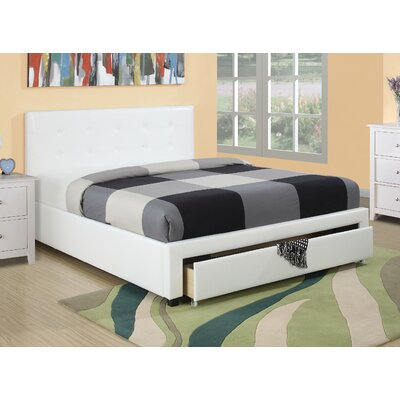 Valhalla Upholstered Platform Bed Size: Queen
