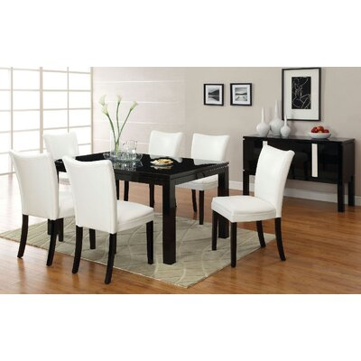 Lari Dining Table Finish: Black
