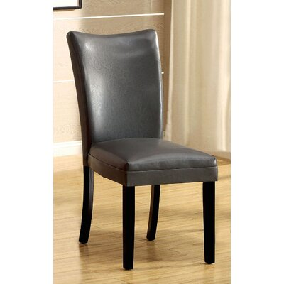 Lari Side Chair Upholstery: Gray