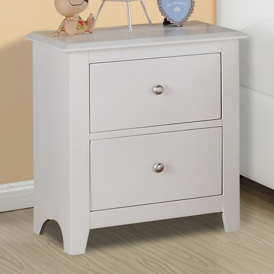 Valhalla 2 Drawer Nightstand