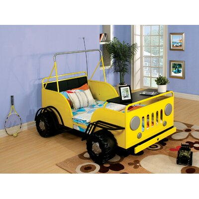 Oscar Toddle Car Bed Color: Yellow