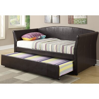 Huntington Daybed with Trundle Color: Espresso