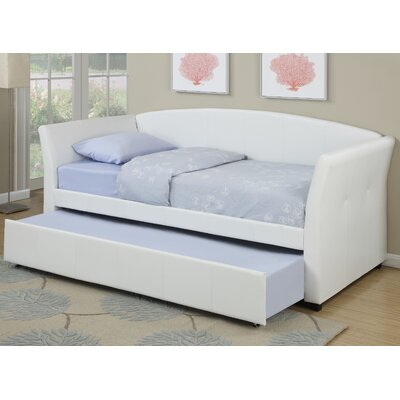 Huntington Daybed with Trundle Color: White