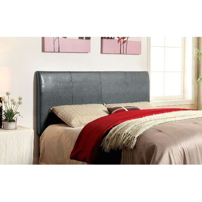 Cecilia Upholstered Panel Headboard Upholstery: Gray, Size: Twin