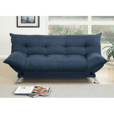 Rio Convertible Sofa Upholstery: Navy