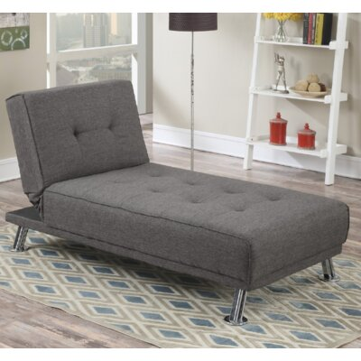 Joan Chaise Lounge Color: Gray