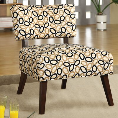 Fabric Slipper Chair Upholstery: Beige