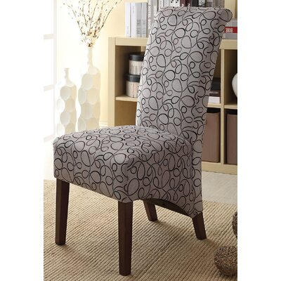 Fabric Parsons Chair Color: Gray