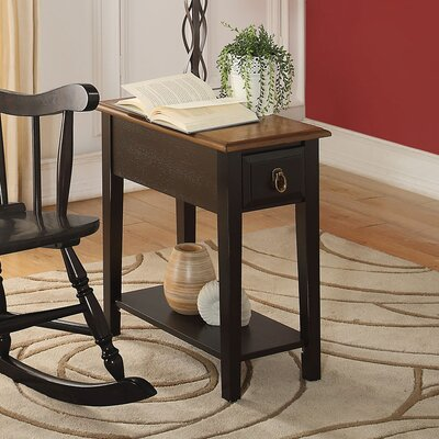Mia End Table Finish: Black