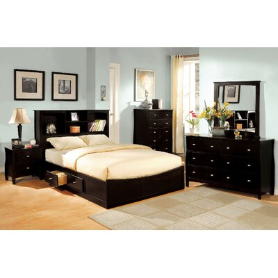 Babson Storage Platform Bed Size: California King