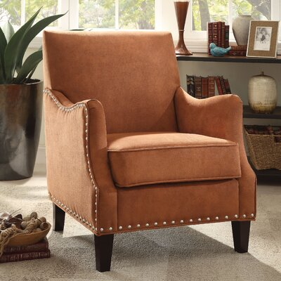 Sherry Club Chair Color: Canyon