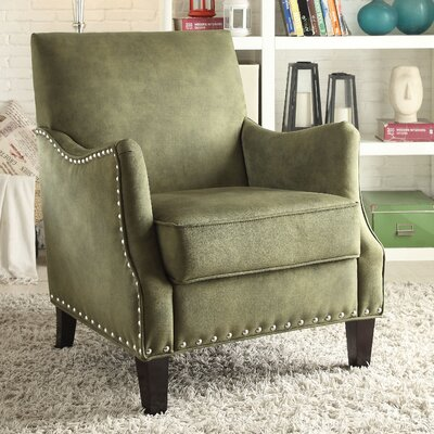 Sherry Armchair Color: Green