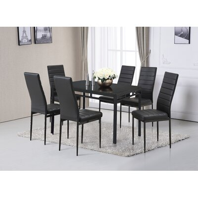Noir Dining Set
