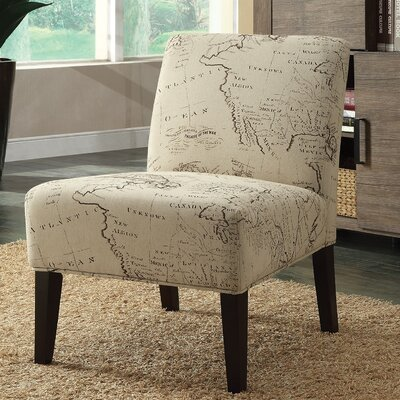 Avalon Map Slipper Chair