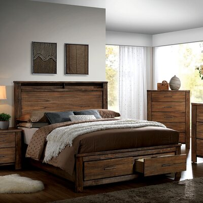 Brookdale Storage Platform Bed Size: California King