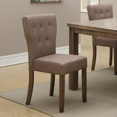 Daniella Parsons Chair Finish: Light Brown