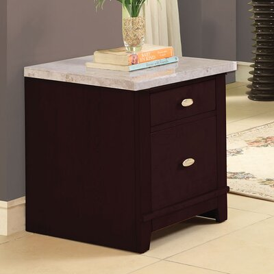 Murphy 2 Drawer Nightstand