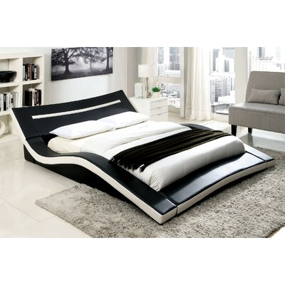 Zibo Upholstered Platform Bed Size: King
