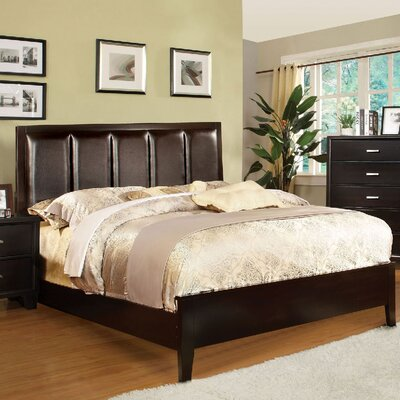 Arianna Upholstered Panel Bed Size: Full