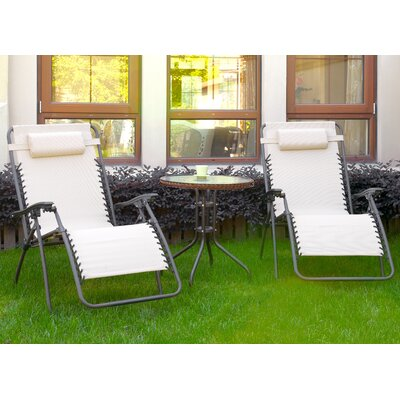 Diana 3 Piece Lounge Seating Group Finish: Beige