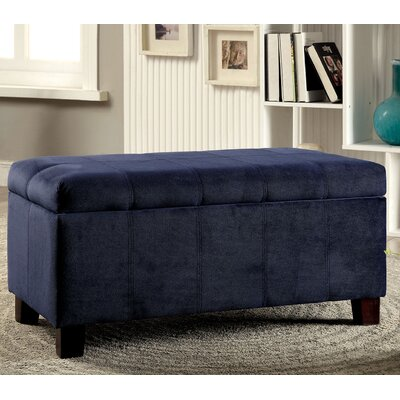 Cosimo Ottoman Upholstery Color: Navy