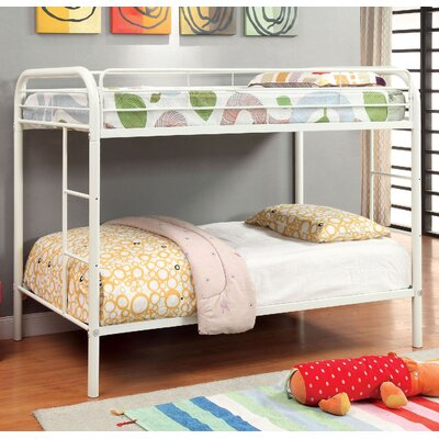 Caia Twin Bunk Bed Finish: White