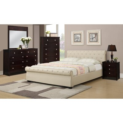 Divonne Upholstered Platform Bed Size: Queen