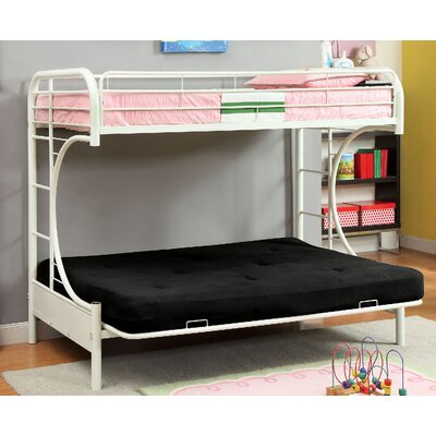 Freesia Double Bunk Bed Color: White