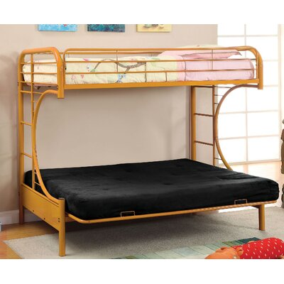 Freesia Double Bunk Bed Color: Orange
