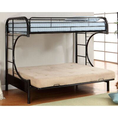 Freesia Double Bunk Bed Color: Black
