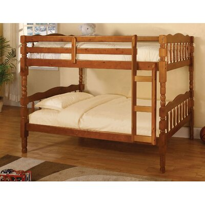Aster Twin Bunk Bed Color: Oak