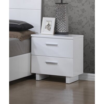 Branchville 2 Drawer Nightstand