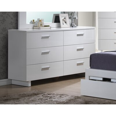 Branchville 6 Drawer Double Dresser