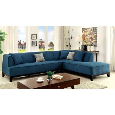 Maya Sectional Upholstery: Teal