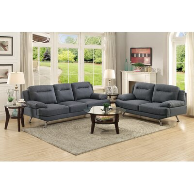 Stacey Sofa and Loveseat Set
