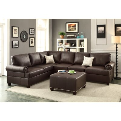 A&J Homes Studio 77WF7A0J-ES Mario Reversible Chaise Sectional