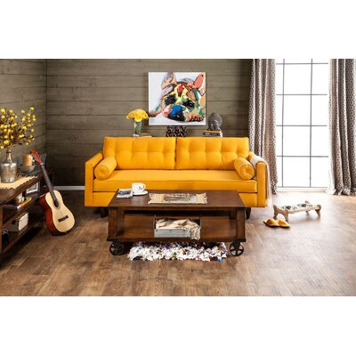 Marilyn Sofa Upholstery: Yellow
