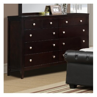 Jakayla 8 Drawer Double Dresser