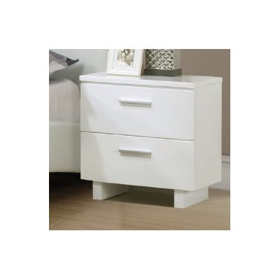 Jake 2 Drawer Nightstand