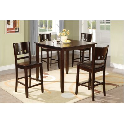 Macen 5 Piece Counter Height Dining Set