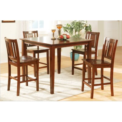 Maddox 5 Piece Counter Height Dining Set