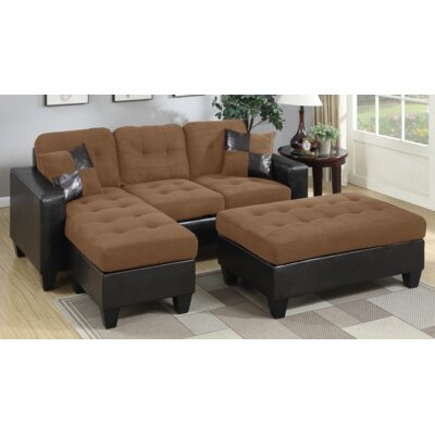 A&J Homes Studio F6WF9A2J9SDL Swain Sleeper Sectional Finish