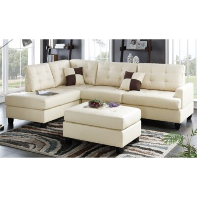A&J Homes Studio F6WF8A5J6BEG Malz Sectional Finish