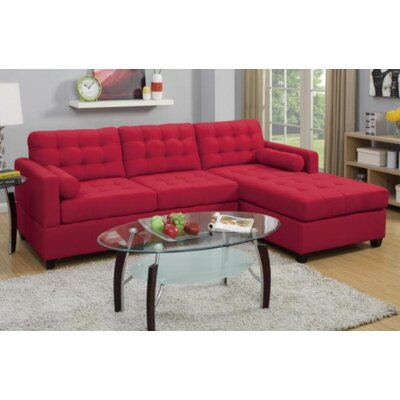 Domain Reversible Chaise Sectional